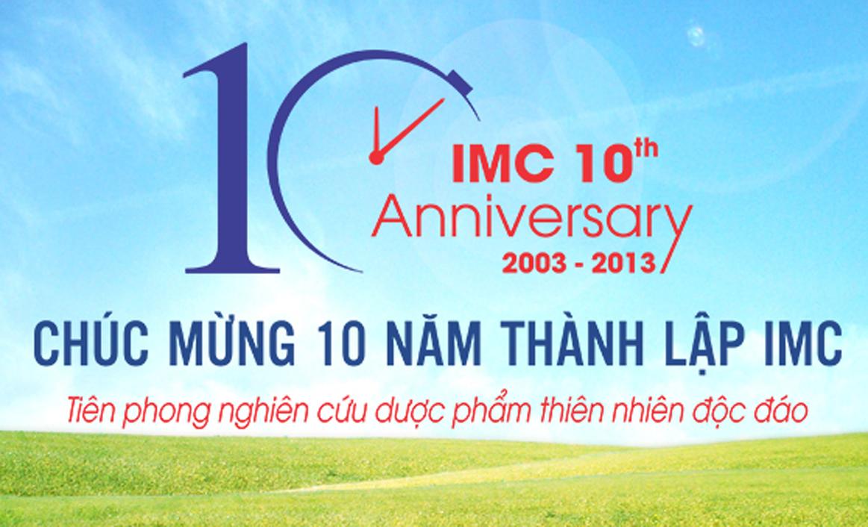 Chúc mừng 10 năm thành lập IMC - Hội viên chính thức của VAFF
